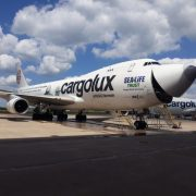 Cargolux International Plane