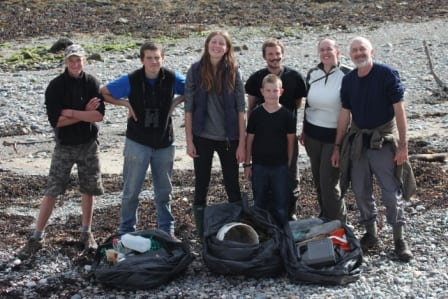 Bardsey beach clean