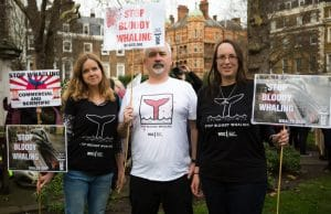 'What do we want? TO SAVE THE WHALES! When do we want it? NOW!'
