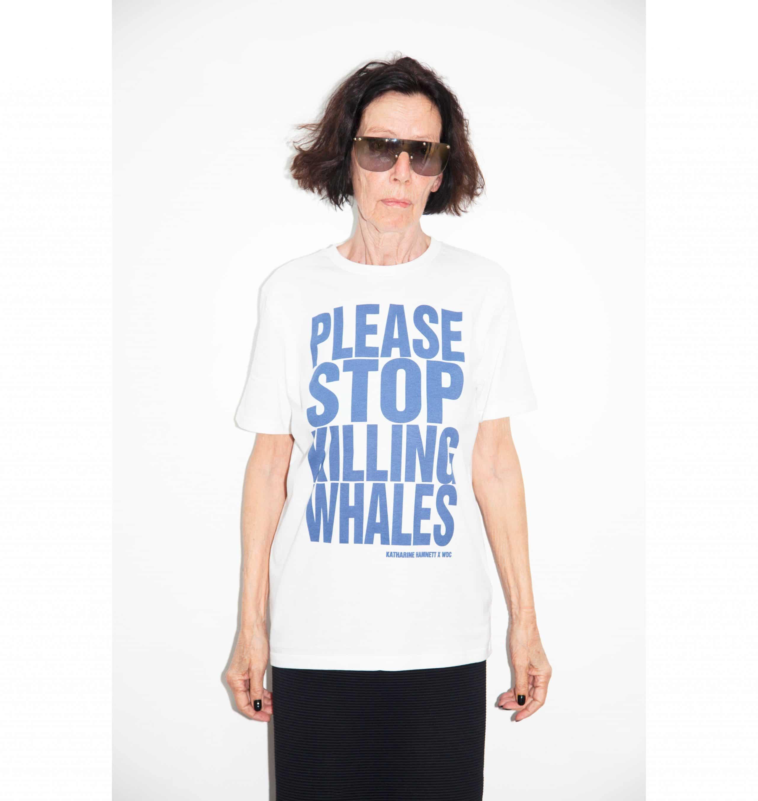 Acclaimed fashion designer Katharine Hamnett joins WDC fight to halt