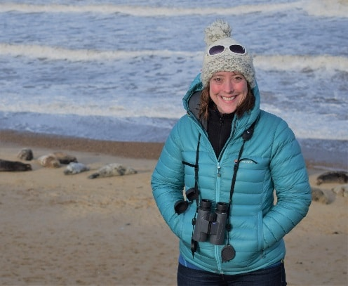 Rebecca Walker is a senior marine mammal specialist for Natural England