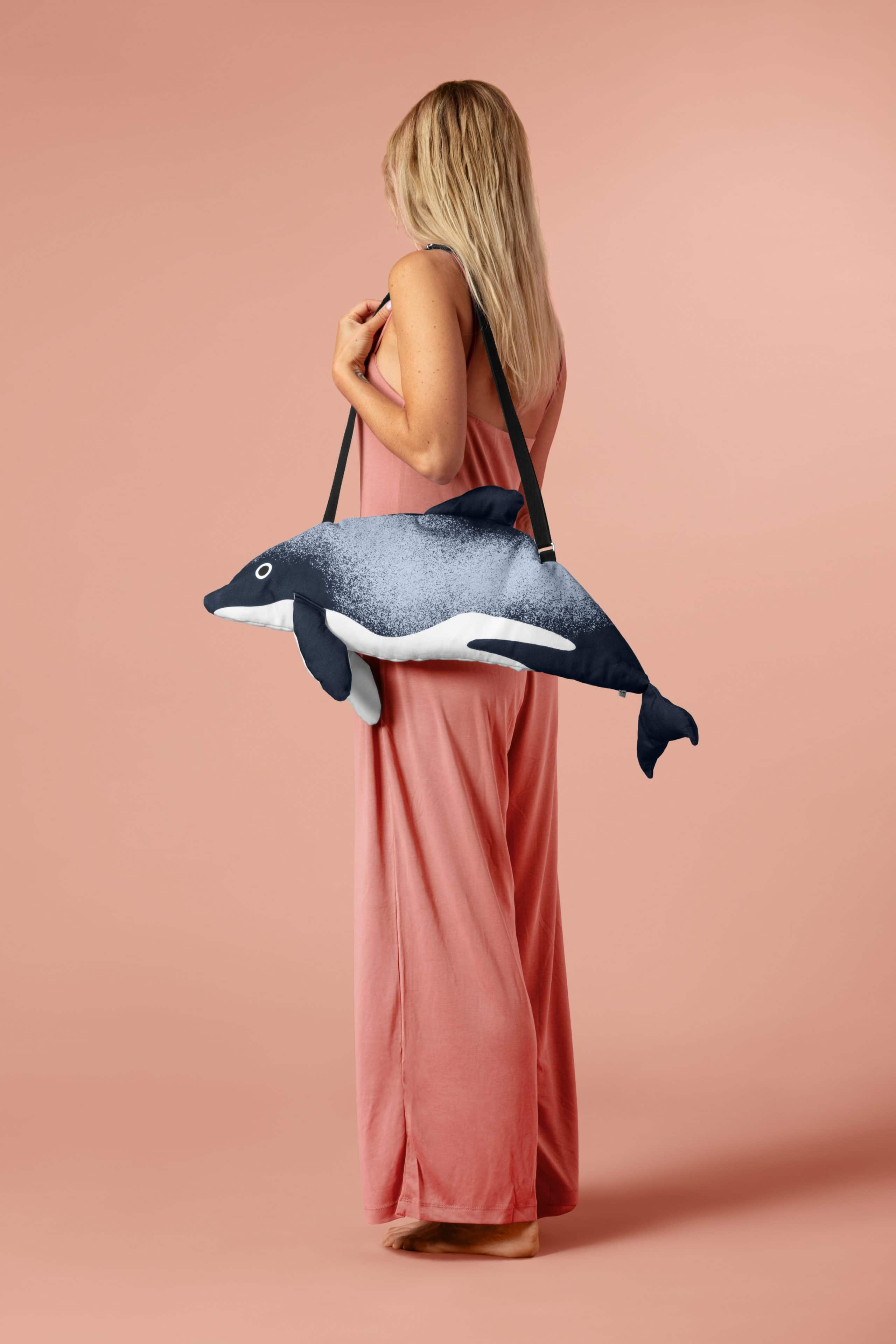 Māui dolphin bag by Don Fisher