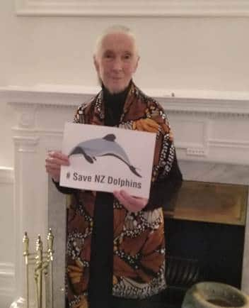 Jane Goodall shows support for our campaign