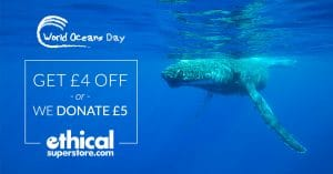 Ethical Superstore celebrates World Oceans Day with special offers for WDC supporters