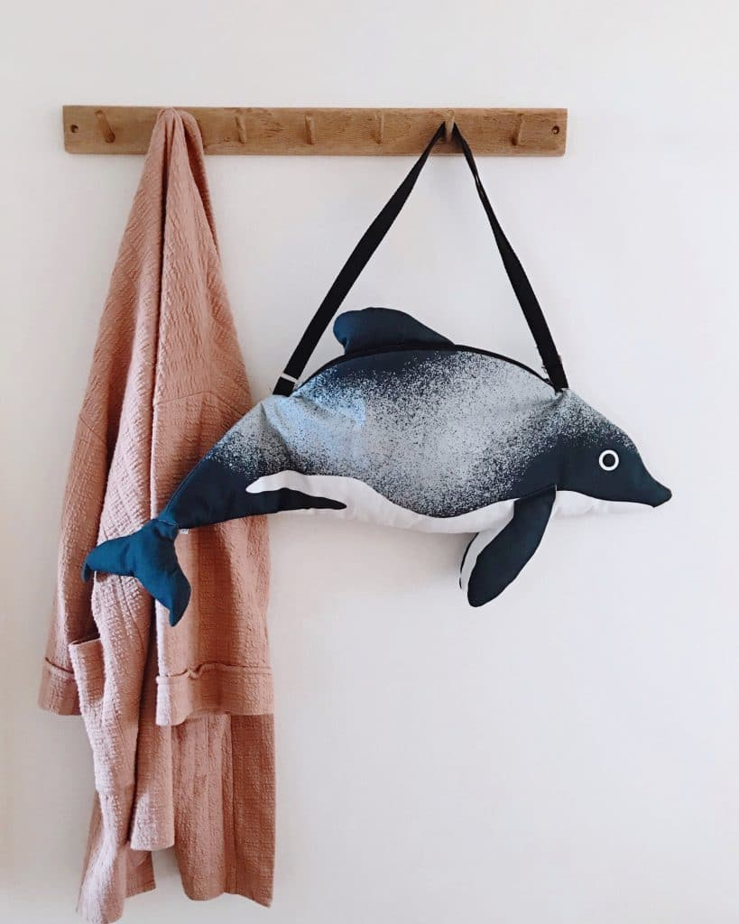 Take part in our competition to win an adorable limited edition Māui dolphin bag by Don Fisher!