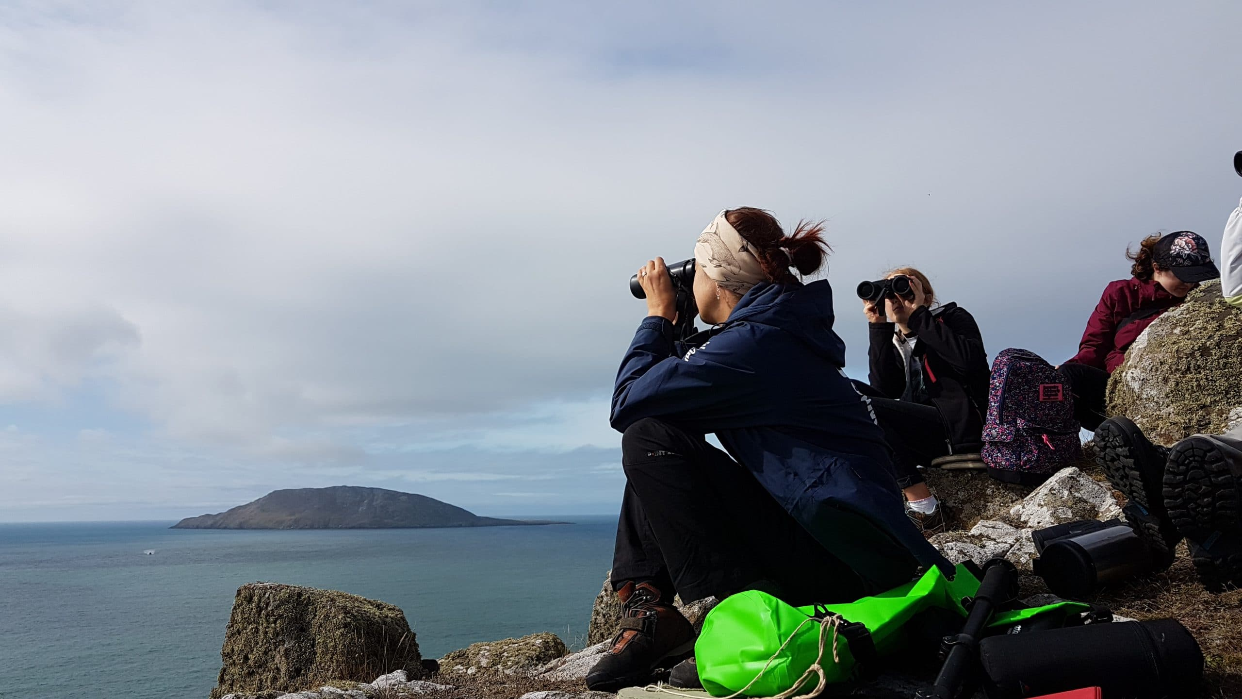 The mystical island of Bardsey enchanted us from our viewpoint