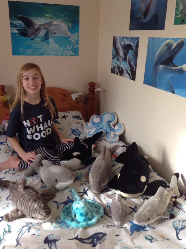 Isla was our first Dolphin Defender