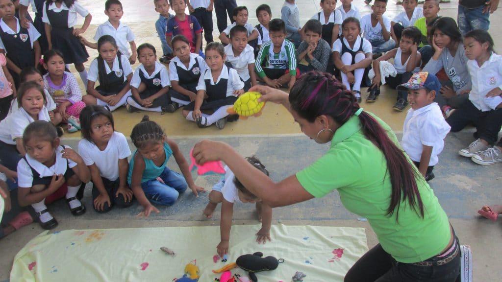 Teaching conservation through stories