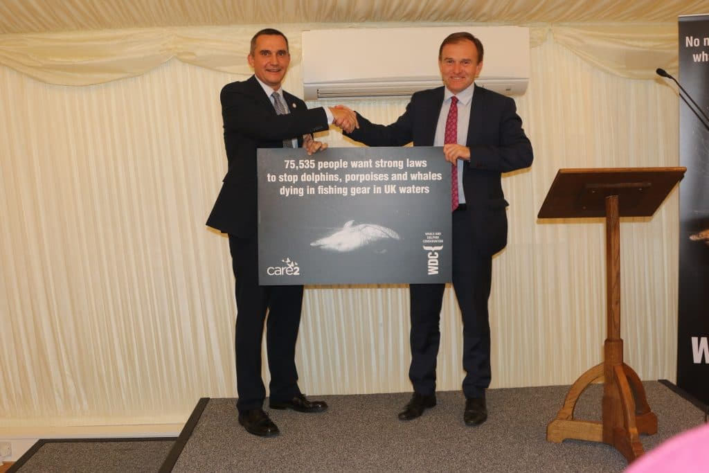 George Eustice MP accepts our petition