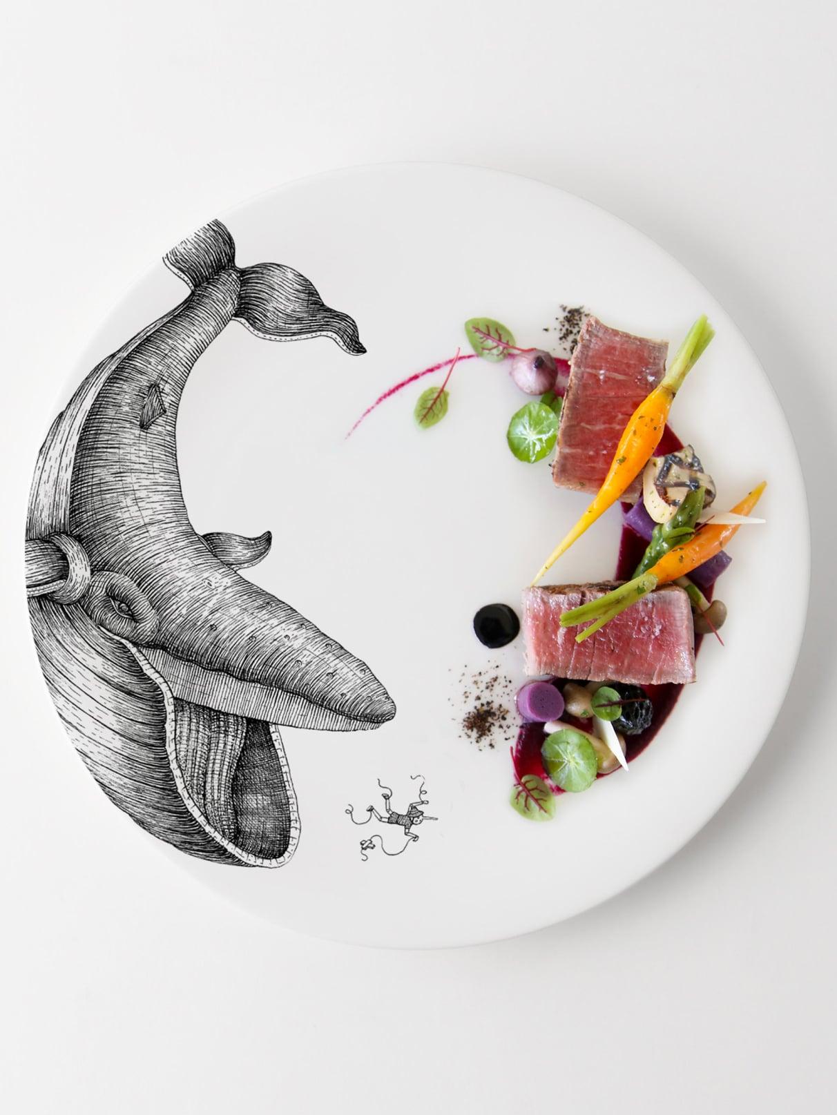 pinocchio-plate food