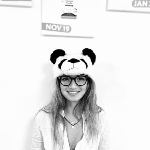 The Cheeky Panda's Team Ocean Leader, Emilia Sandoghar