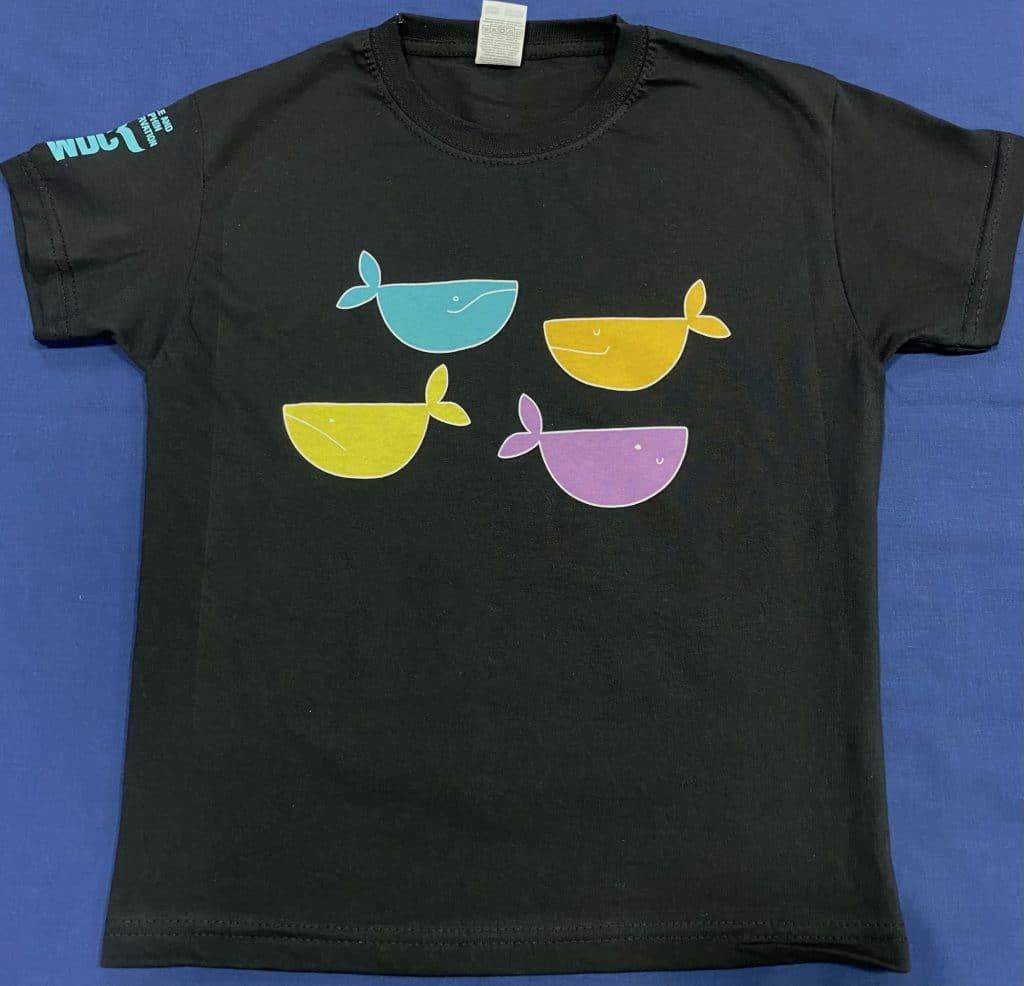 4 whales t-shirt