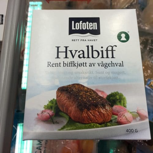 Norway whale meat 2 Rob Lott