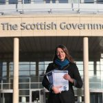 Sarah-Dolman-presents-public-consultation-responses-Scottish-Parliament-WDC-Sarah-Dolman