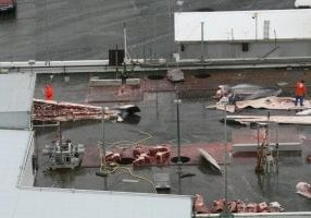 Fin whaling plant in Iceland